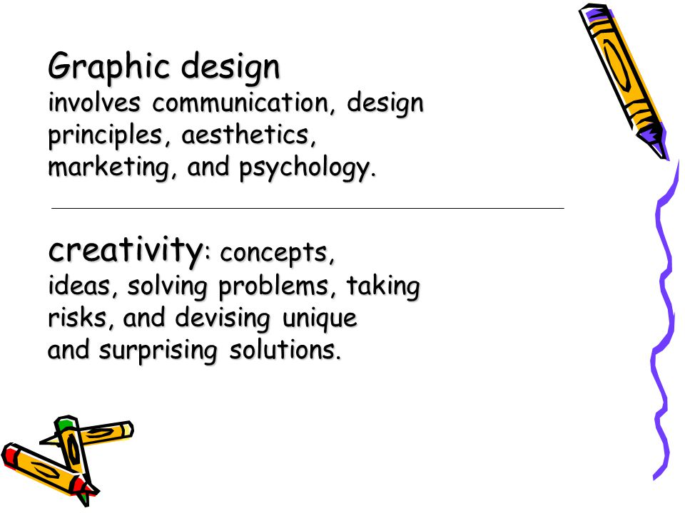 Graphic design creativity: concepts,