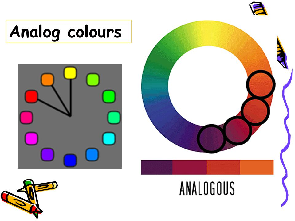 Analog colours