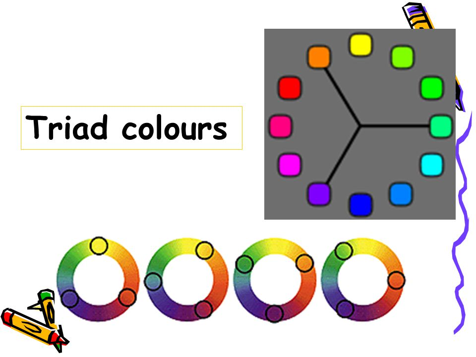 Triad colours