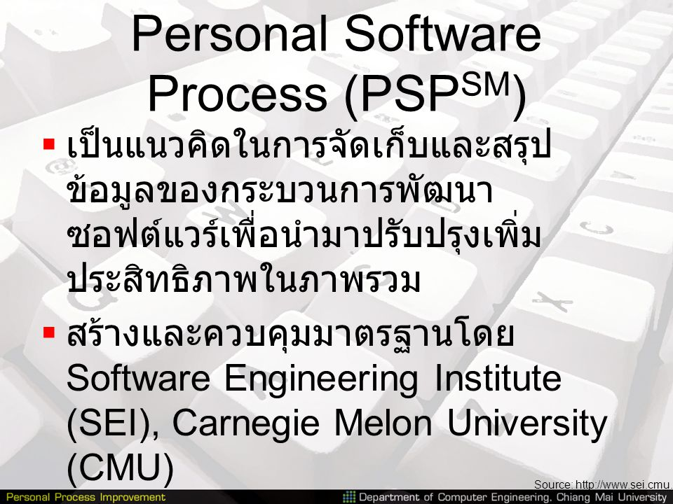 Personal Software Process (PSPSM)