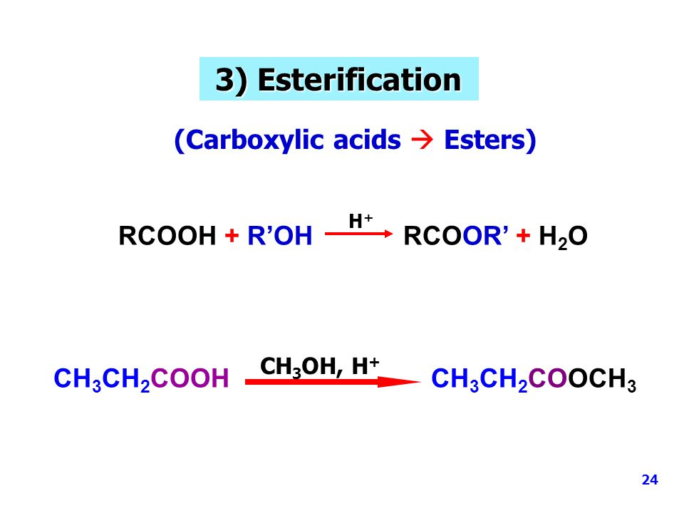(Carboxylic acids  Esters)
