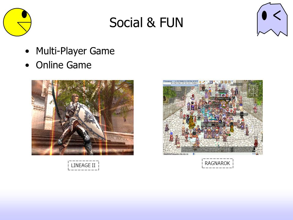 Social & FUN Multi-Player Game Online Game RAGNAROK LINEAGE II