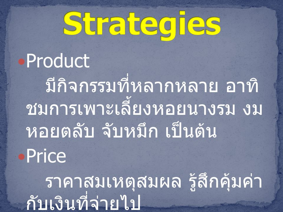 Brand Strategies Product