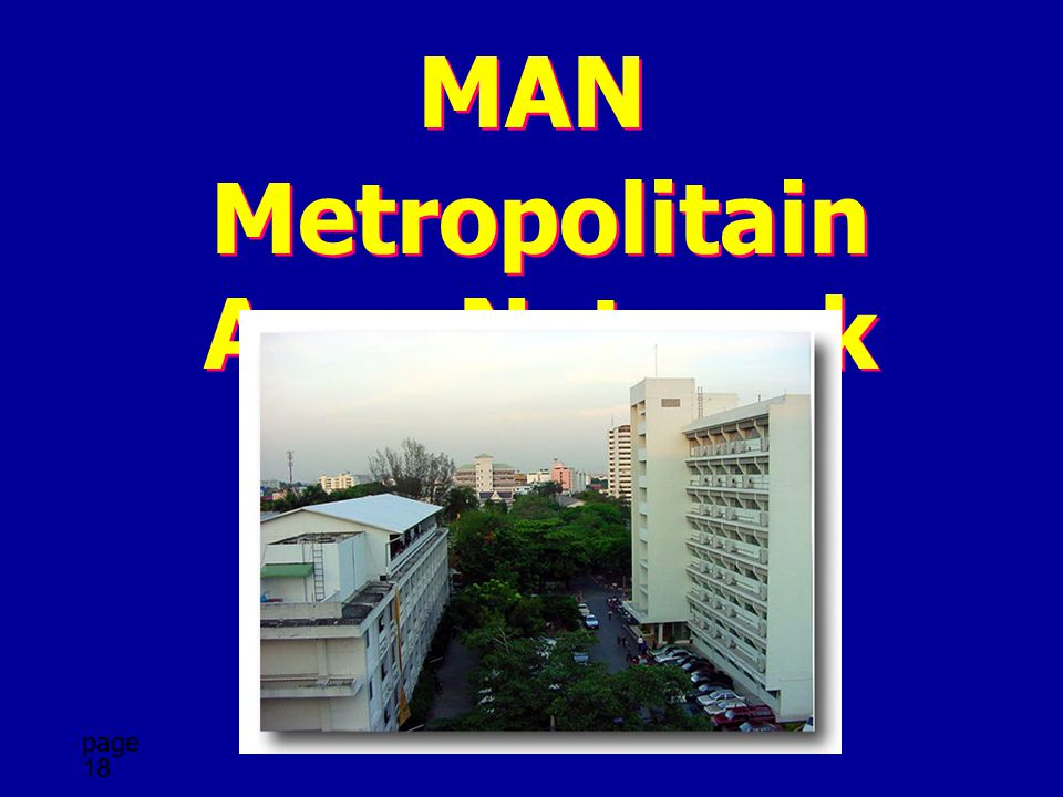 Metropolitain Area Network