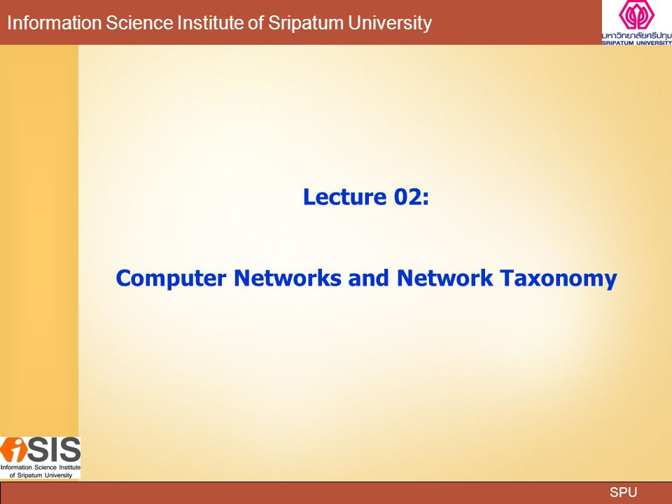 Computer Networks and Network Taxonomy