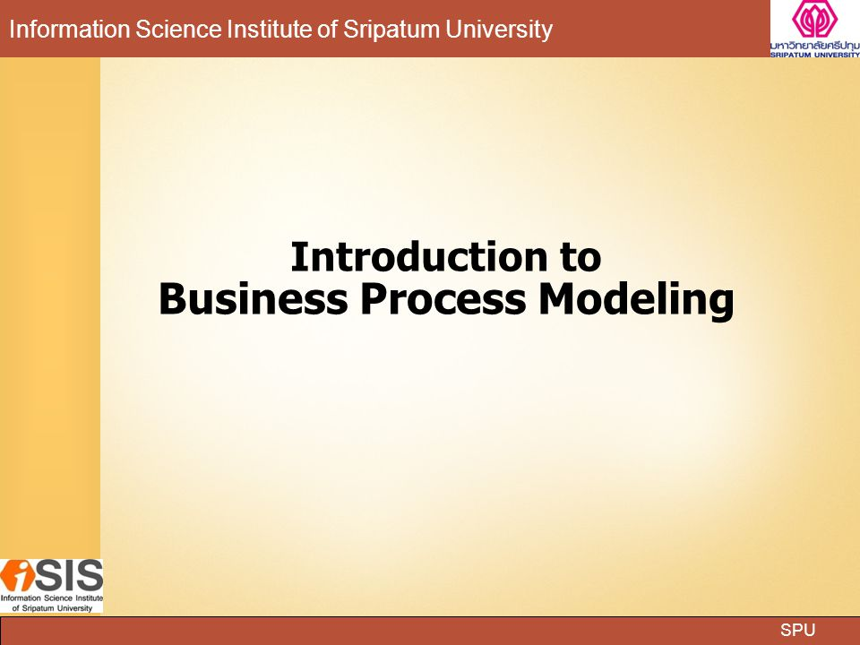 Introduction to Business Process Modeling