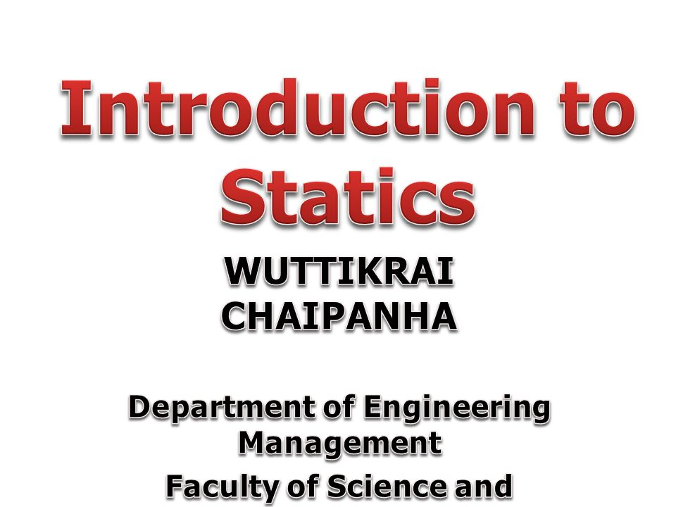 Introduction to Statics