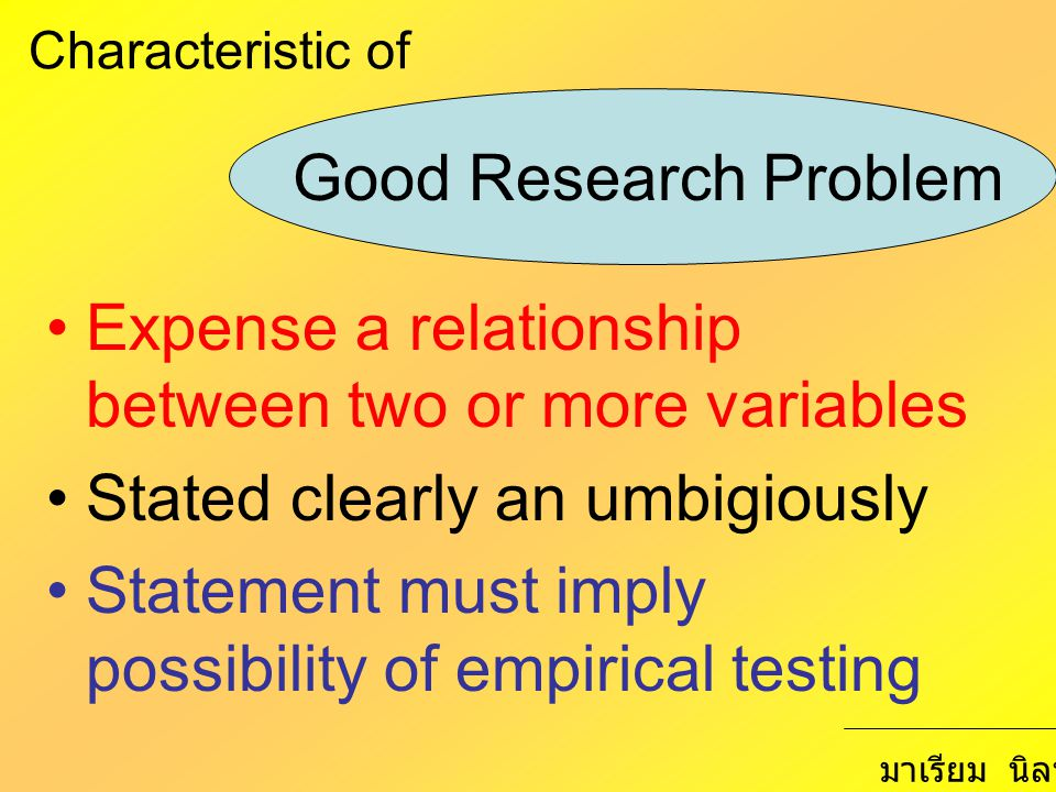 Expense a relationship between two or more variables