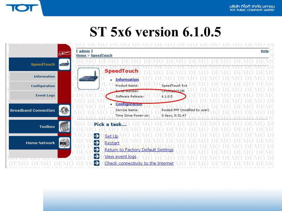 ST 5x6 version 6.1.0.5