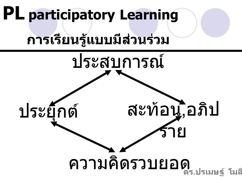 PL participatory Learning