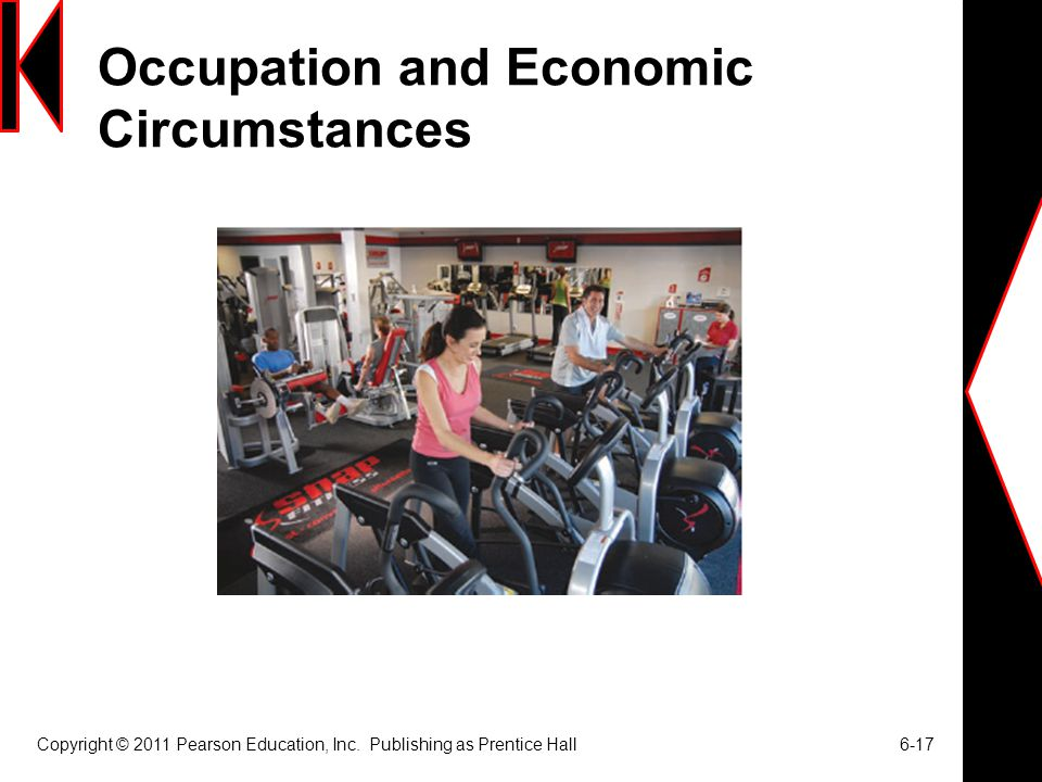 Occupation and Economic Circumstances