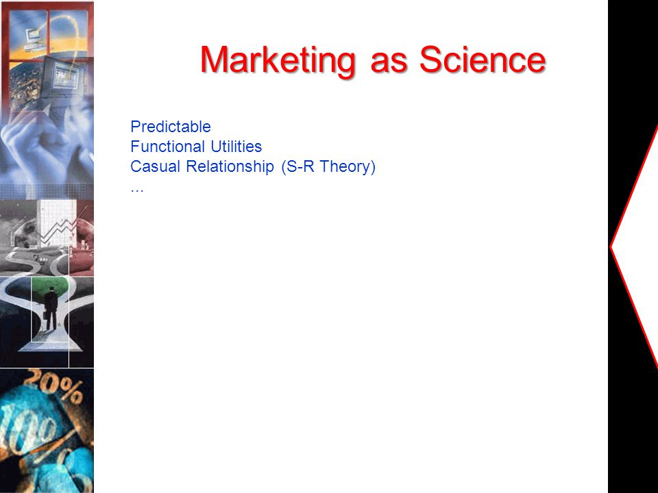 Marketing as Science Predictable Functional Utilities