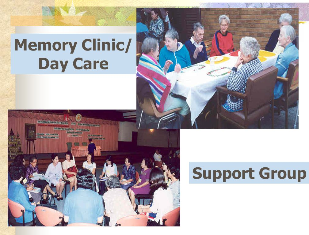 Memory Clinic/ Day Care Support Group