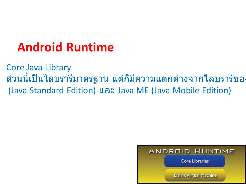 Android Runtime Core Java Library