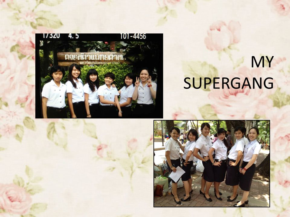 MY SUPERGANG