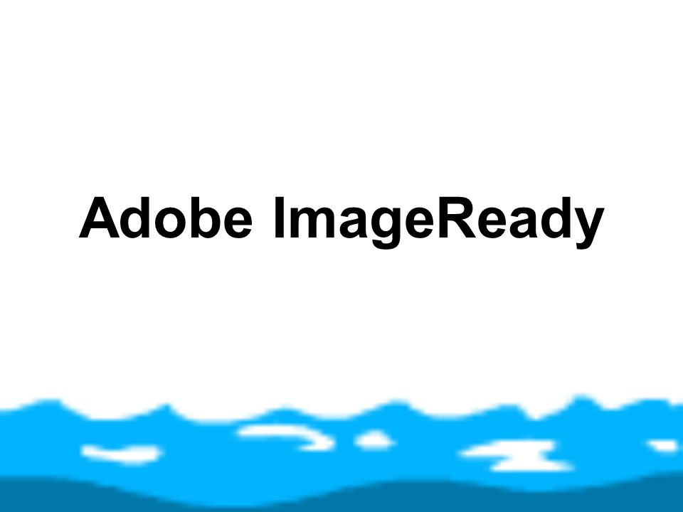 Adobe ImageReady
