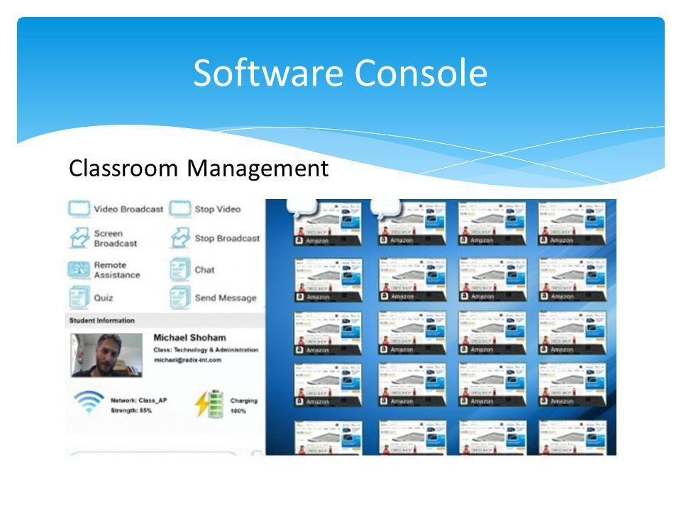 Software Console Classroom Management