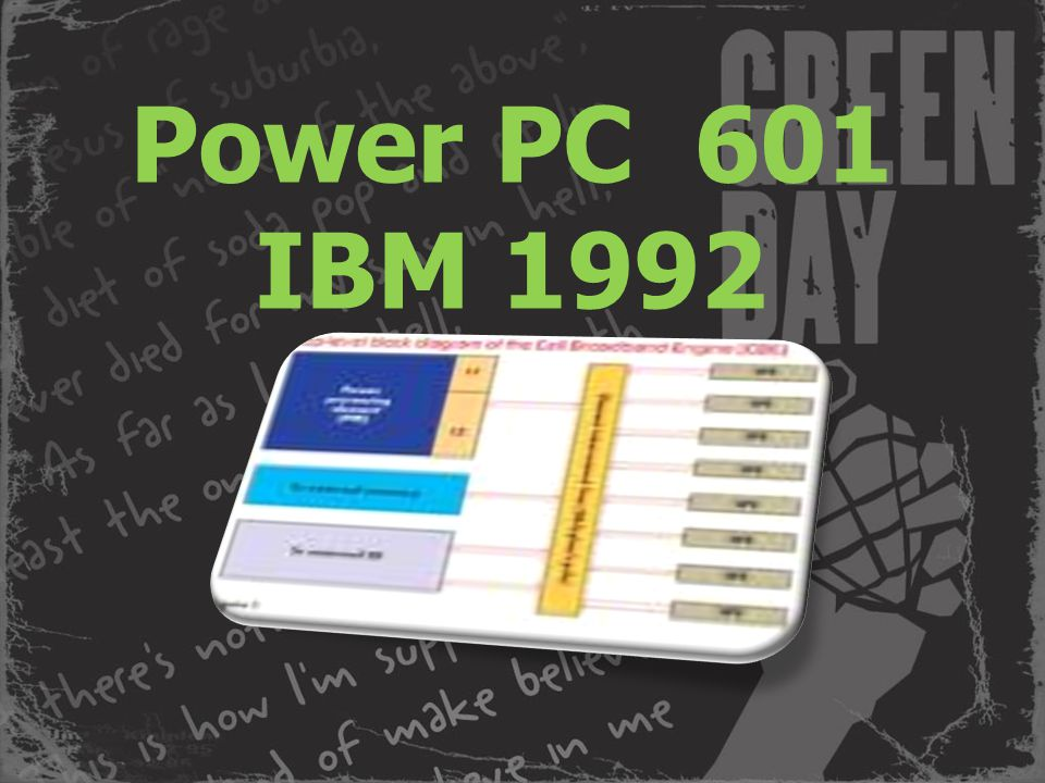 Power PC 601 IBM 1992