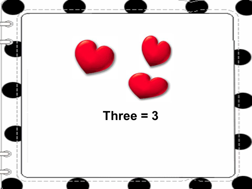 One Three = 3