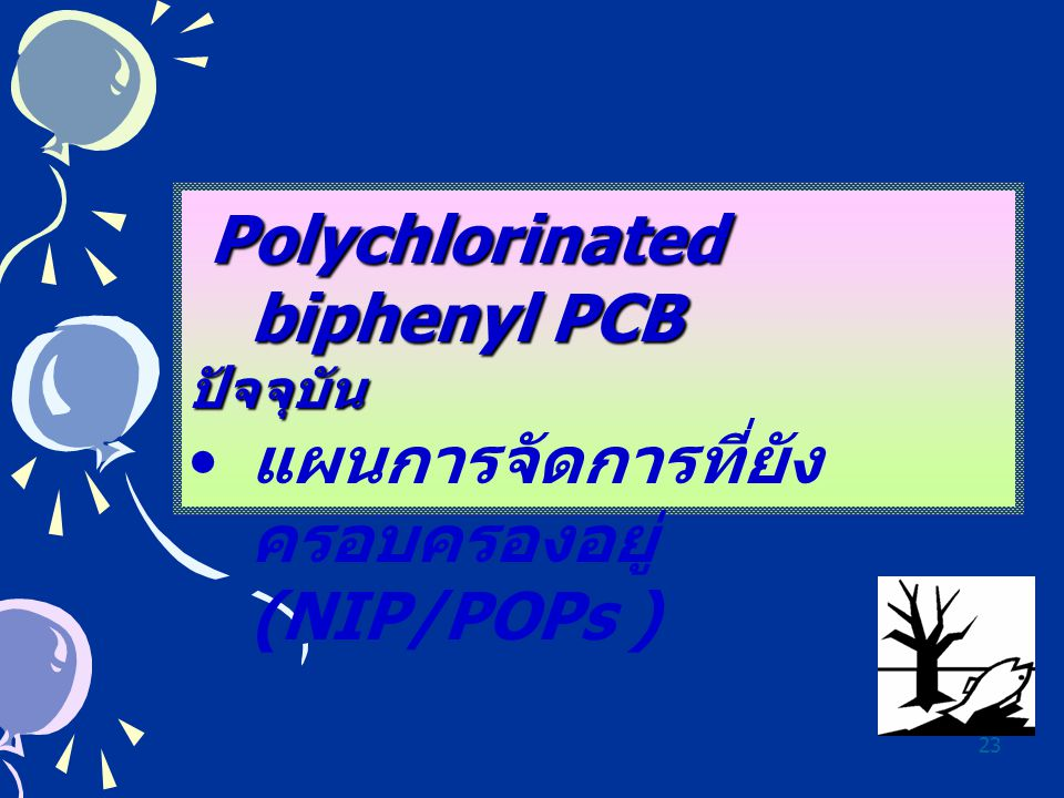 Polychlorinated biphenyl PCB