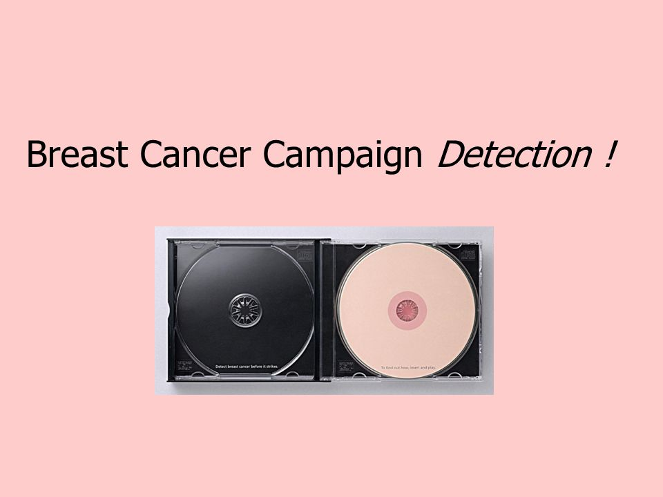 Breast Cancer Campaign Detection !