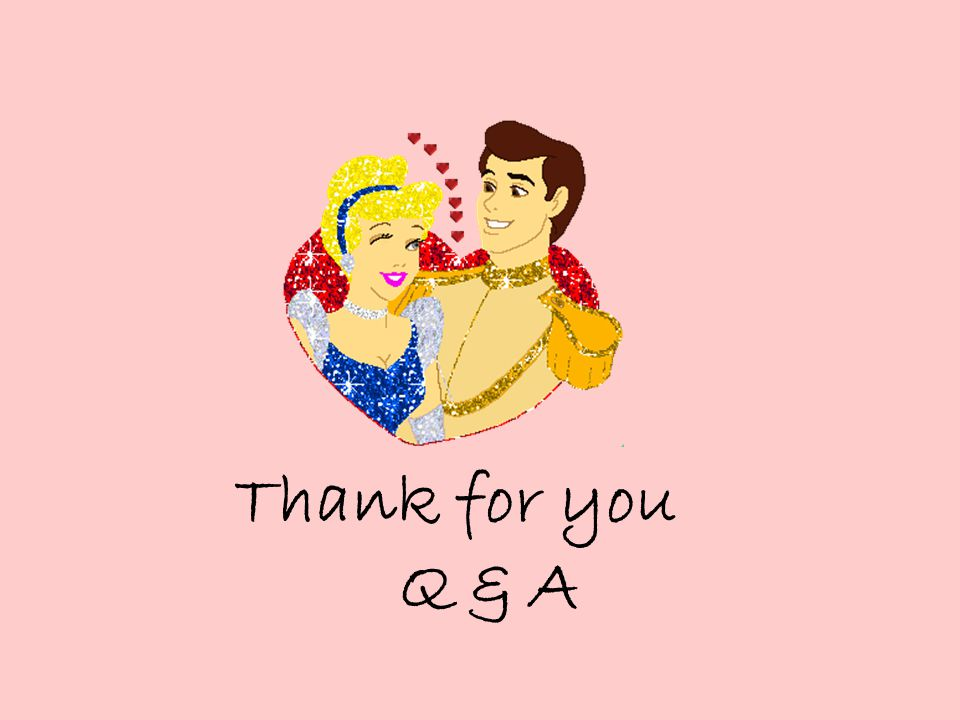 Thank for you Q & A