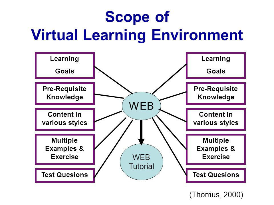 Scope of Virtual Learning Environment
