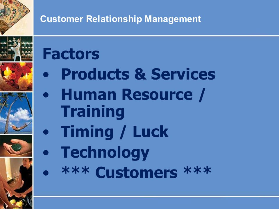 Human Resource / Training Timing / Luck Technology *** Customers ***