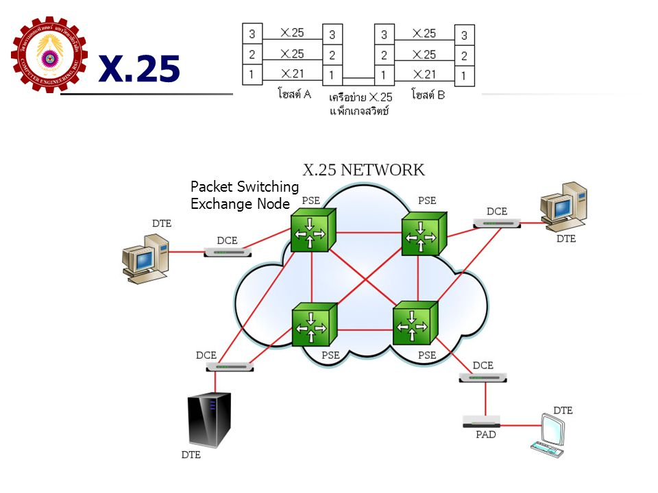 X.25 Packet Switching Exchange Node