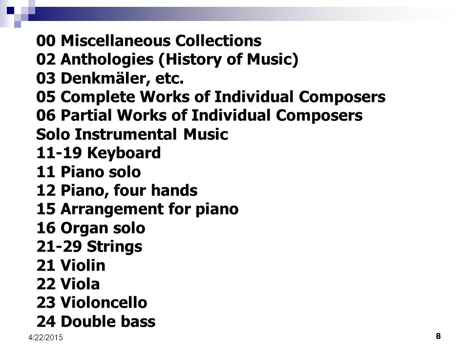 00 Miscellaneous Collections 02 Anthologies (History of Music)