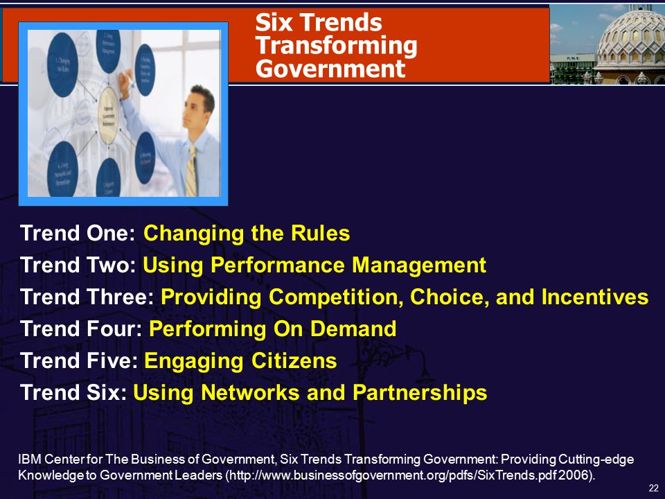Transforming Government
