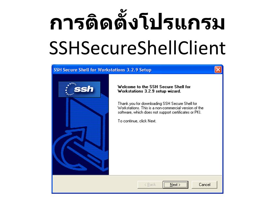 SSHSecureShellClient