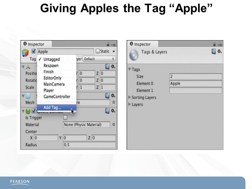Giving Apples the Tag Apple